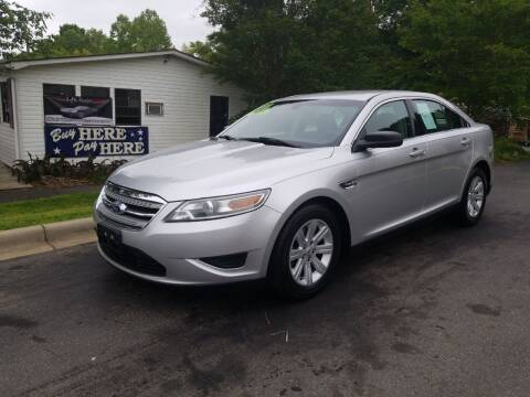 2011 Ford Taurus for sale at TR MOTORS in Gastonia NC
