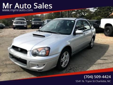 2004 Subaru Impreza for sale at Mr Auto Sales in Charlotte NC