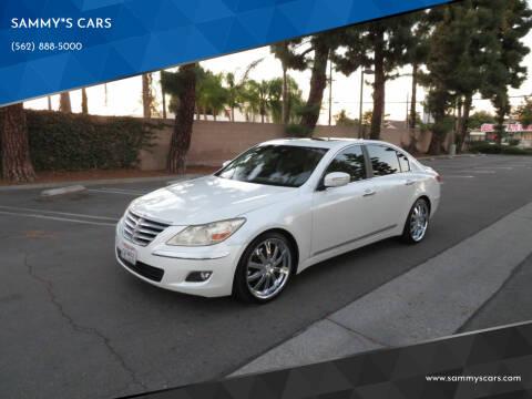 "2009 Hyundai Genesis for sale at SAMMY""S CARS in Bellflower CA"