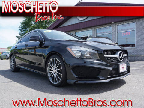 2016 Mercedes-Benz CLA for sale at Moschetto Bros. Inc in Methuen MA