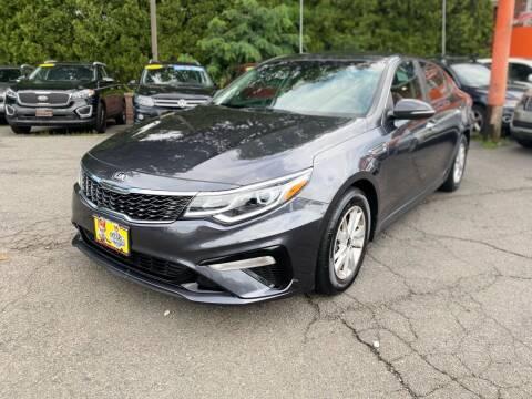 2019 Kia Optima for sale at Bloomingdale Auto Group in Bloomingdale NJ