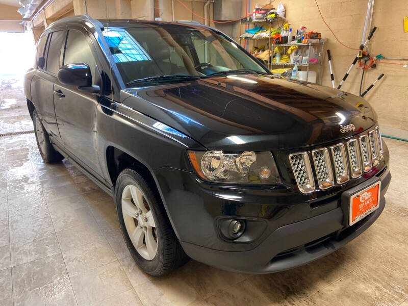 2014 Jeep Compass for sale at TOP SHELF AUTOMOTIVE in Newark NJ