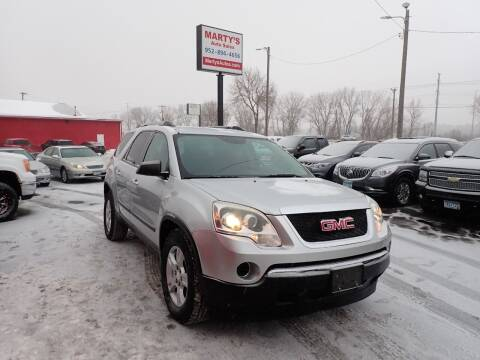2010 GMC Acadia for sale at Marty's Auto Sales in Savage MN