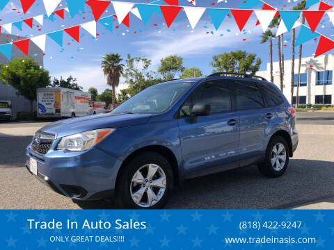 2016 Subaru Forester for sale at Trade In Auto Sales in Van Nuys CA
