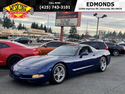2004 Chevrolet Corvette for sale at West Coast Auto Works in Edmonds WA