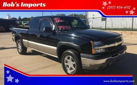 2003 Chevrolet Silverado 1500 for sale at Bob's Imports in Clinton IL