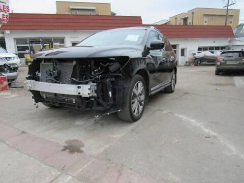 2015 Nissan Pathfinder for sale at STS Automotive - Sold in Denver CO