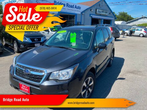 2017 Subaru Forester for sale at Bridge Road Auto in Salisbury MA