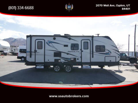 2018 Keystone AEROLITE for sale at S S Auto Brokers in Ogden UT
