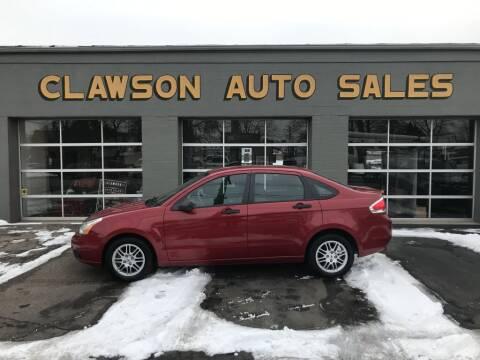2010 Ford Focus for sale at Clawson Auto Sales in Clawson MI