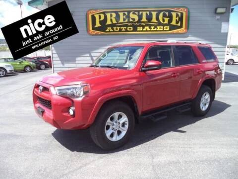 2017 Toyota 4Runner for sale at PRESTIGE AUTO SALES in Spearfish SD