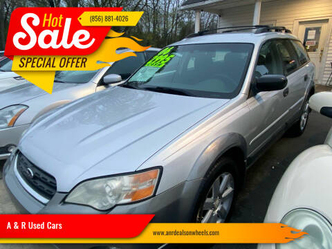 2006 Subaru Outback for sale at A & R Used Cars in Clayton NJ
