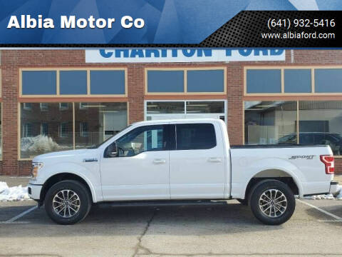 2018 Ford F-150 for sale at Albia Motor Co in Albia IA