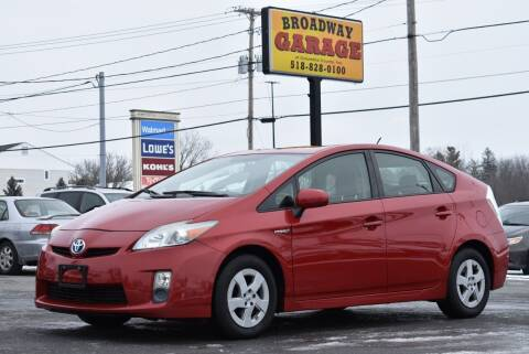 2011 Toyota Prius for sale at Broadway Garage of Columbia County Inc. in Hudson NY