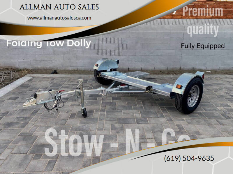 2021 Stow And Go Tow Dolly for sale at ALLMAN AUTO SALES in San Diego CA