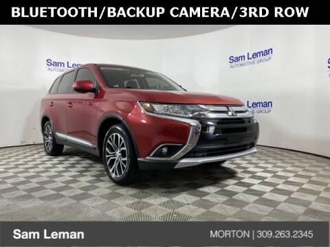2018 Mitsubishi Outlander for sale at Sam Leman CDJRF Morton in Morton IL