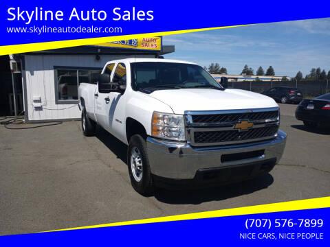 2014 Chevrolet Silverado 2500HD for sale at Skyline Auto Sales in Santa Rosa CA