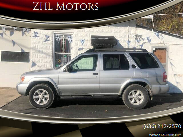 2003 Nissan Pathfinder for sale at ZHL Motors in House Springs MO