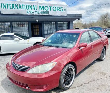 2005 Toyota Camry for sale at International Motors Inc. in Nashville TN