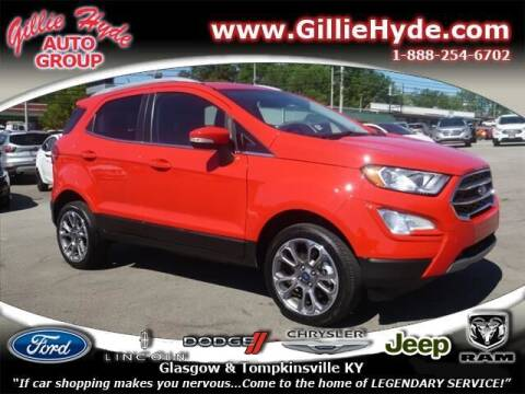 2020 Ford EcoSport for sale at Gillie Hyde Auto Group in Glasgow KY