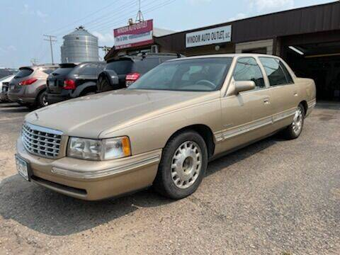 1998 Cadillac DeVille for sale at WINDOM AUTO OUTLET LLC in Windom MN