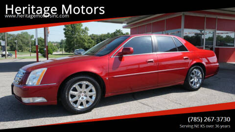 2009 Cadillac DTS for sale at Heritage Motors in Topeka KS