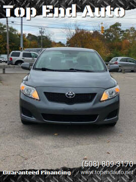 2010 Toyota Corolla for sale at Top End Auto in North Atteboro MA