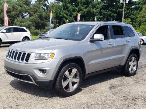 2014 Jeep Grand Cherokee for sale at Thompson Motors in Lapeer MI