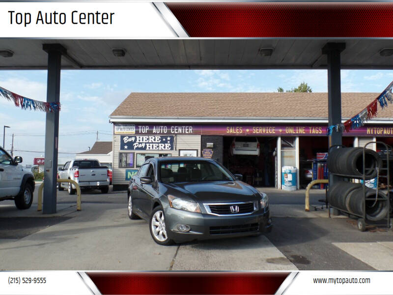 2009 Honda Accord for sale at Top Auto Center in Quakertown PA