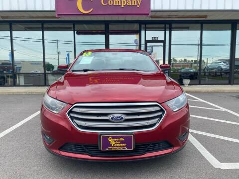 2013 Ford Taurus for sale at Greenville Motor Company in Greenville NC