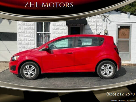 2013 Chevrolet Sonic for sale at ZHL Motors in House Springs MO