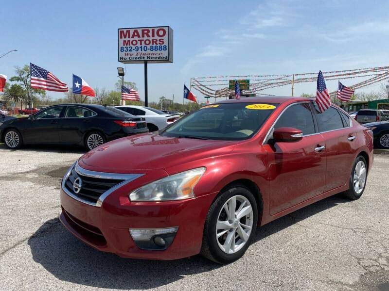 2013 Nissan Altima for sale at Mario Motors in South Houston TX