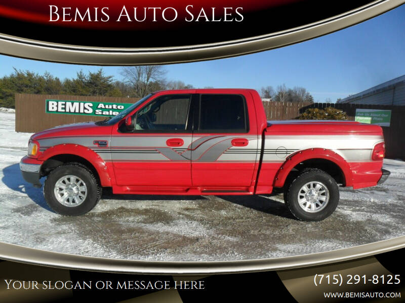 2001 Ford F-150 for sale at Bemis Auto Sales in Crivitz WI