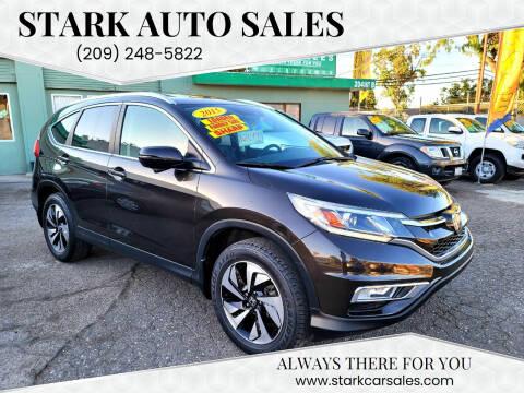 2015 Honda CR-V for sale at Stark Auto Sales in Modesto CA