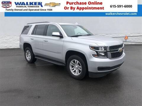 2019 Chevrolet Tahoe for sale at WALKER CHEVROLET in Franklin TN
