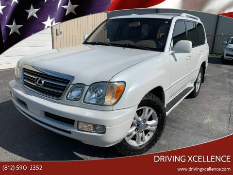 2003 Lexus LX 470 for sale at Driving Xcellence in Jeffersonville IN