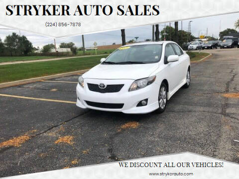 2009 Toyota Corolla for sale at Stryker Auto Sales in South Elgin IL