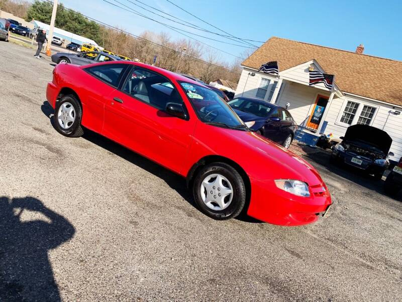 2004 Chevrolet Cavalier for sale at New Wave Auto of Vineland in Vineland NJ
