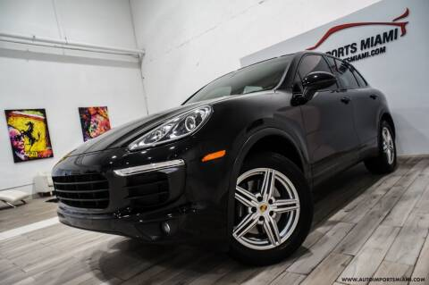 2016 Porsche Cayenne for sale at AUTO IMPORTS MIAMI in Fort Lauderdale FL