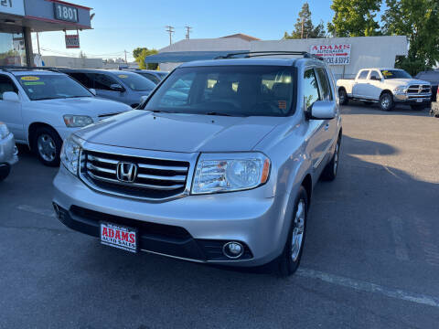 2014 Honda Pilot for sale at Adams Auto Sales in Sacramento CA