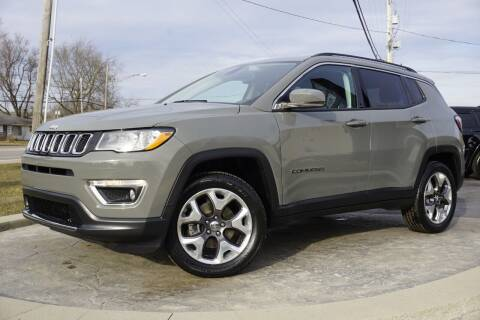 2020 Jeep Compass for sale at Platinum Motors LLC in Heath OH