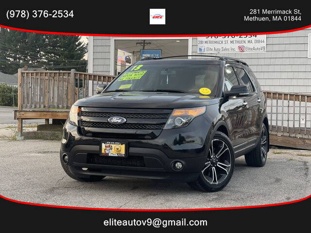 2013 Ford Explorer for sale at ELITE AUTO SALES, INC in Methuen MA
