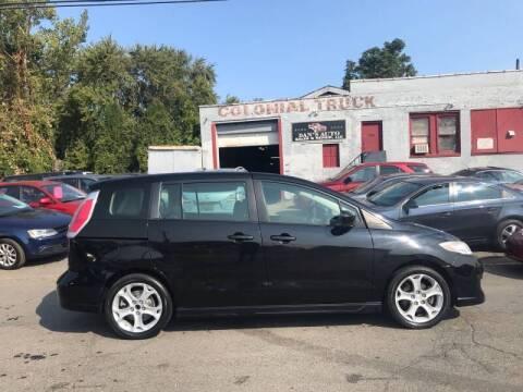 2010 Mazda MAZDA5 for sale at Dan's Auto Sales and Repair LLC in East Hartford CT