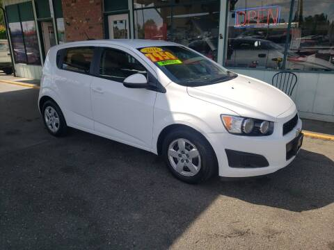 2016 Chevrolet Sonic for sale at Low Auto Sales in Sedro Woolley WA
