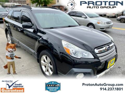 2014 Subaru Outback for sale at Proton Auto Group in Yonkers NY
