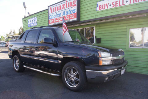 2005 Chevrolet Avalanche for sale at Amazing Choice Autos in Sacramento CA