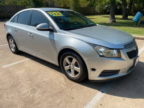 2012 Chevrolet Cruze for sale at B & M Car Co in Conroe TX
