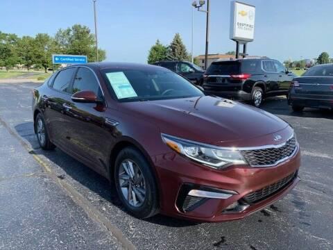 2019 Kia Optima for sale at Dunn Chevrolet in Oregon OH
