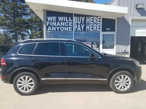 2011 Volkswagen Touareg for sale at STERLING MOTORS in Watertown SD