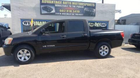 2010 Nissan Titan for sale at Advantage Motorsports Plus in Phoenix AZ